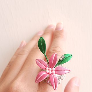 【Spring Flower】Spring Equinox - Lily Ring