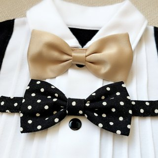 PUREST British Royal Bow Tie Special Gentleman - Detachable Bow Tie [Plus]