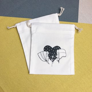 Drawstring old couple's storage/gift/place/constellation