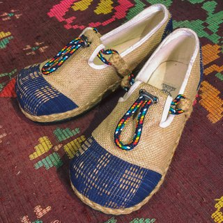 """SAND ROPE"" Natural Hemp & Recycle Tire Bottom Eco Shoes"