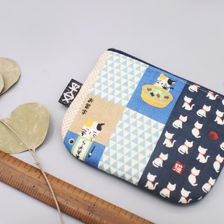 Ping Le Small Pack - Cat Daily (Blue) Wallet