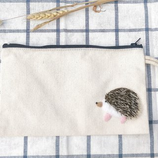 Needle Felt Hedgehog Bag
