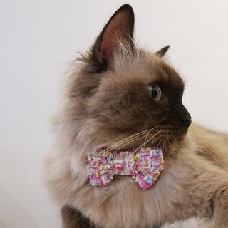 Candy Tweed Bowtie for Pets