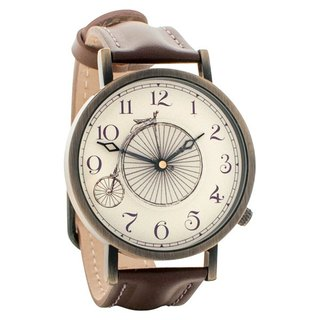 European retro bicycle neutral watch