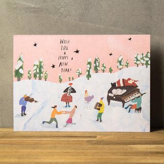 Children in the Winter Wonderland - Christmas/New Year Card