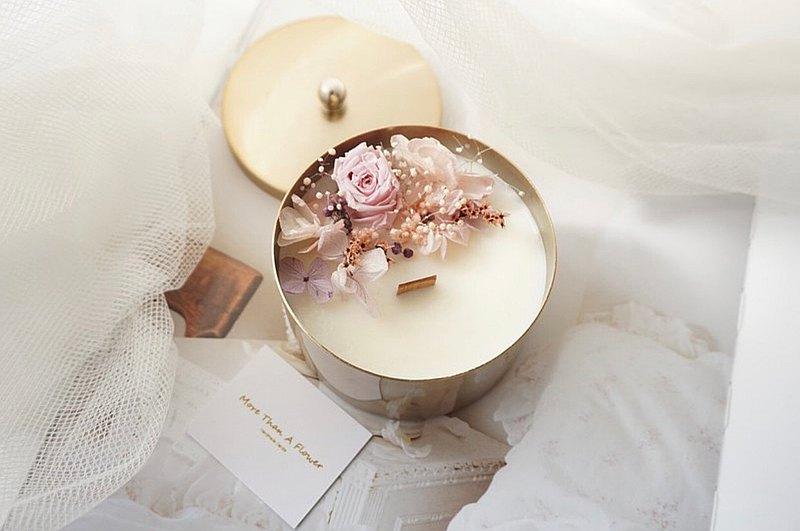 【客製】新年禮物 經典金屬盒蠟燭 香氛蠟燭 情人節禮物 婚禮小物