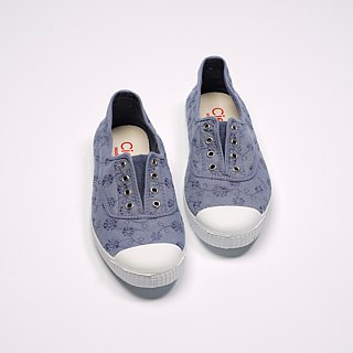 Spanish nationals canvas shoes CIENTA adult jacquard cloth lavender fragrance shoes 70998 90