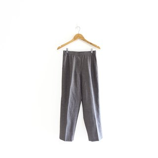 │Slowly│Gray Zone - Vintage Pants│vintage.Retro.Literature