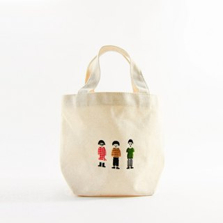 Goody Bag-Fu bag | Small group | Canvas bag 2B pencil thin notebook postcard