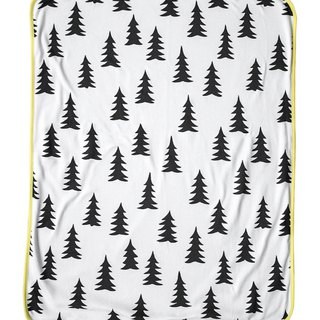 Forest Organic Cotton Blanket (Yellow Edge) – GRAN ECO CHILD BLANKET (yellow edge)