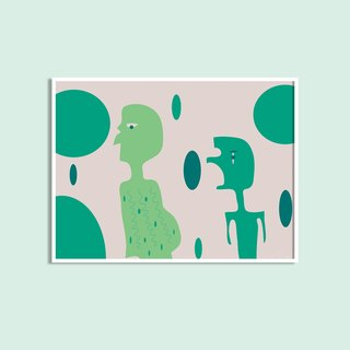 Alien - Original Illustration Decorative / without box