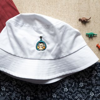 White LamHo Embroidered Hat