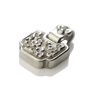 Silver ink NEROSILVER - FH-LLL05 longevity lock longevity wishful [925] silver jewelry necklaces Chinese style / manual silver