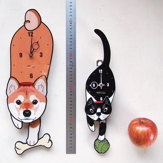 150%Size  Dog・Cat Pet's pendulum clock