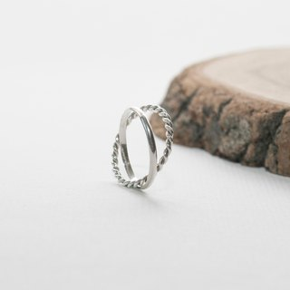 small garden. Twist Ring Ring LITTLE GARDEN DOUBLE RING