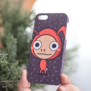 a Rabbit boy apple iphone case for iphone5s, 6s, 6s plus, 7, 7+, 8, 8+, iphone x