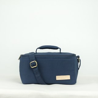 Bento bag - navy [hot/cold bag for lunch box]