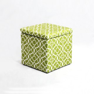 LovCozzie cool fort store single stool - green tea matte