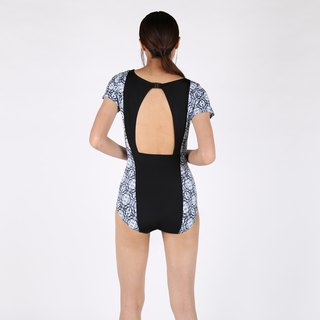 Crystal suit - BlackPrint / swimwear / L