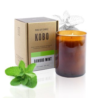【KOBO】 US soybean oil candle - Sentimental march (435g / can burn 100hr)