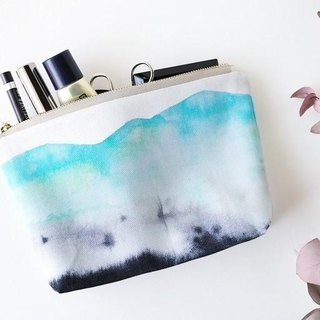 """Hakusan"" handmade accessories pouch of the original pattern"