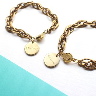 Goody Bag-Handmade brass bracelets-(two pieces)