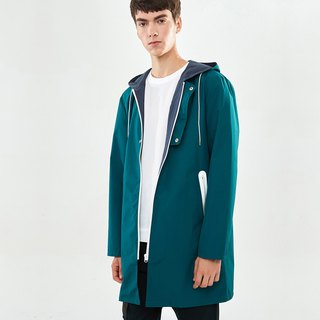 Lightweight Bicolored Raincoat