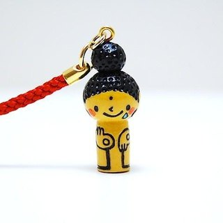 mini Kokeshi * Amitabha customers * strap * Poron ..... [10]