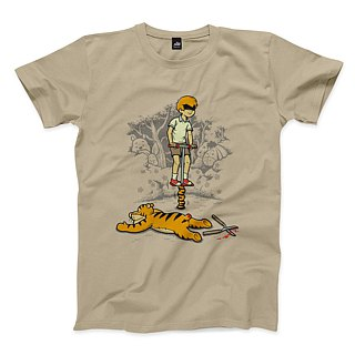 Jumping Tiger - Cool - T-Shirt