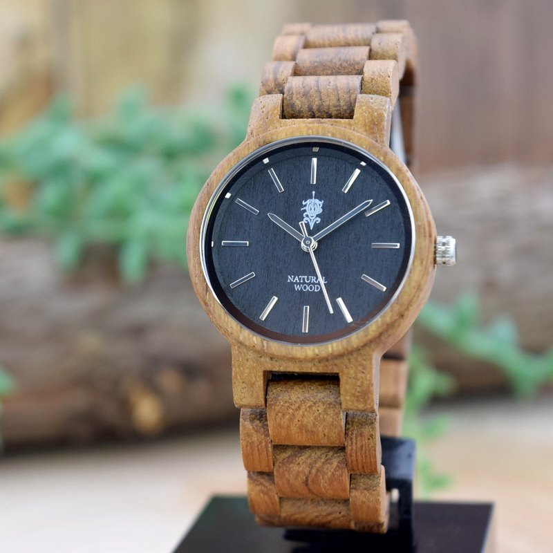 EINBAND Dank Teak 32mm  Wooden Watch