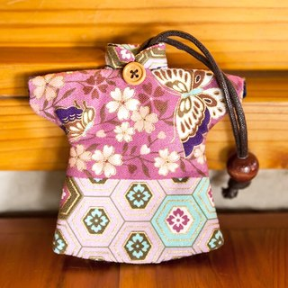 Le Sew than the rabbit LoveRabbit- Japanese-style cherry Wallets - can be accommodated keys, clothes style, Japanese style, cherry, butterfly