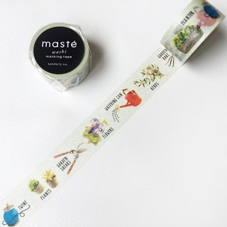 Maste and paper tape Multi Amazing Life [Gardening (MST-MKT162-D)]