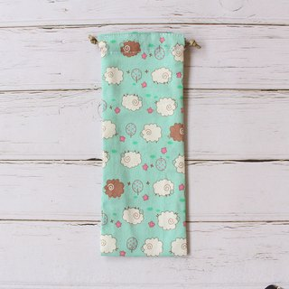 Counting Sheep Diary Pen Bag / Drawstring Pencil Case Storage Bag