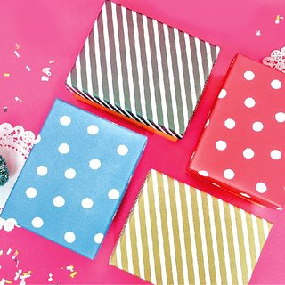 Boge stationery x geometric wind series [gift box M] four colors