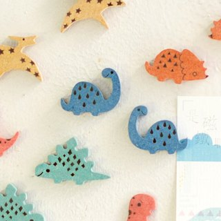 [office small things] small dinosaur / color custom magnets business card holder cute healing small things