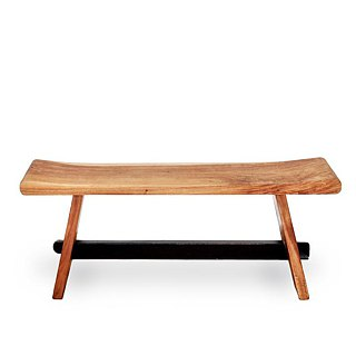 Avenida suar wood bench