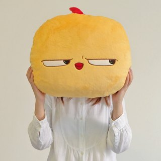Warbie Plush Pillow (Cute yellow bird plush pillow)