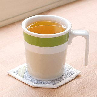 Green bamboo kiss mug (original color system)