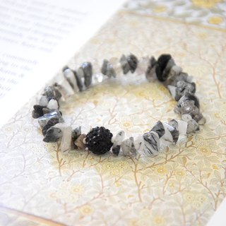 Mysterious Black Angel Handmade Bracelet