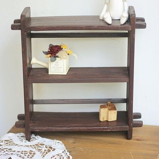 【Good day fetus】 Japan zakka ancient wood for the new shelf