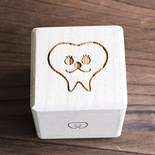Breast tooth box High quality 'kiri' dog cat 'iroha: Dog's illustration' Child's teeth Adult's teeth Baby gifts Present Iroha dental teeth (dogs, cats, adult teeth boxes, children's teeth boxes wisdom teeth breast case cases