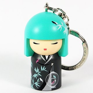 Key ring - Nagisa peaceful peace [Kimmidoll and blessing doll key ring]