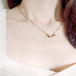 ♦ ViiArt ♦ Good mood ♦ Brass necklace