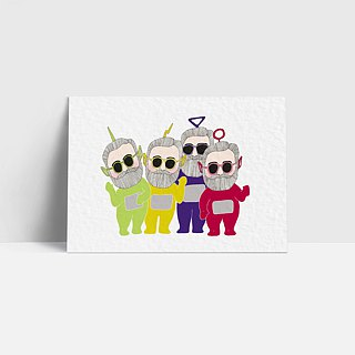 1095 | Teletubbies | Postcard | Antenna Baby