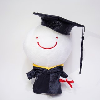 Bubble graduation doll