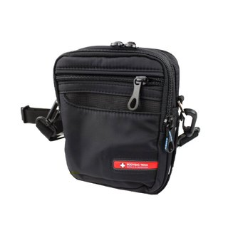 Black function water repellent small side backpack BODYSAC <b1502>