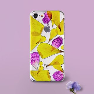 Petals Art iPhone 6/7/Plus Emboss Case (C)