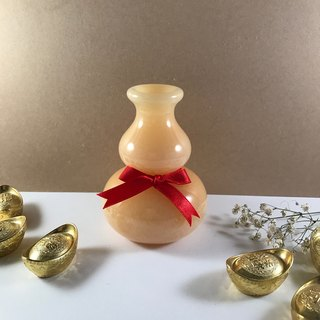 【Gourd Vase】natural stone - lucky/wealth/table furnishings