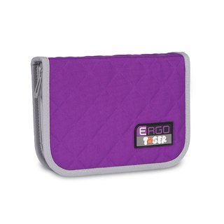 Tiger Family Rainbow Creative Stationery Bag - Grape Violet