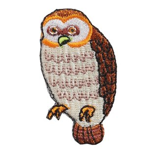 [Jingdong are KYO-TO-TO] flowers and birds リ ー ズ _ owl (owl) embroidery